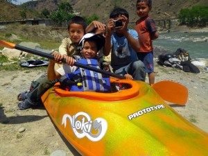 Learn to kayak with a bonus Safari experience in Nepal
