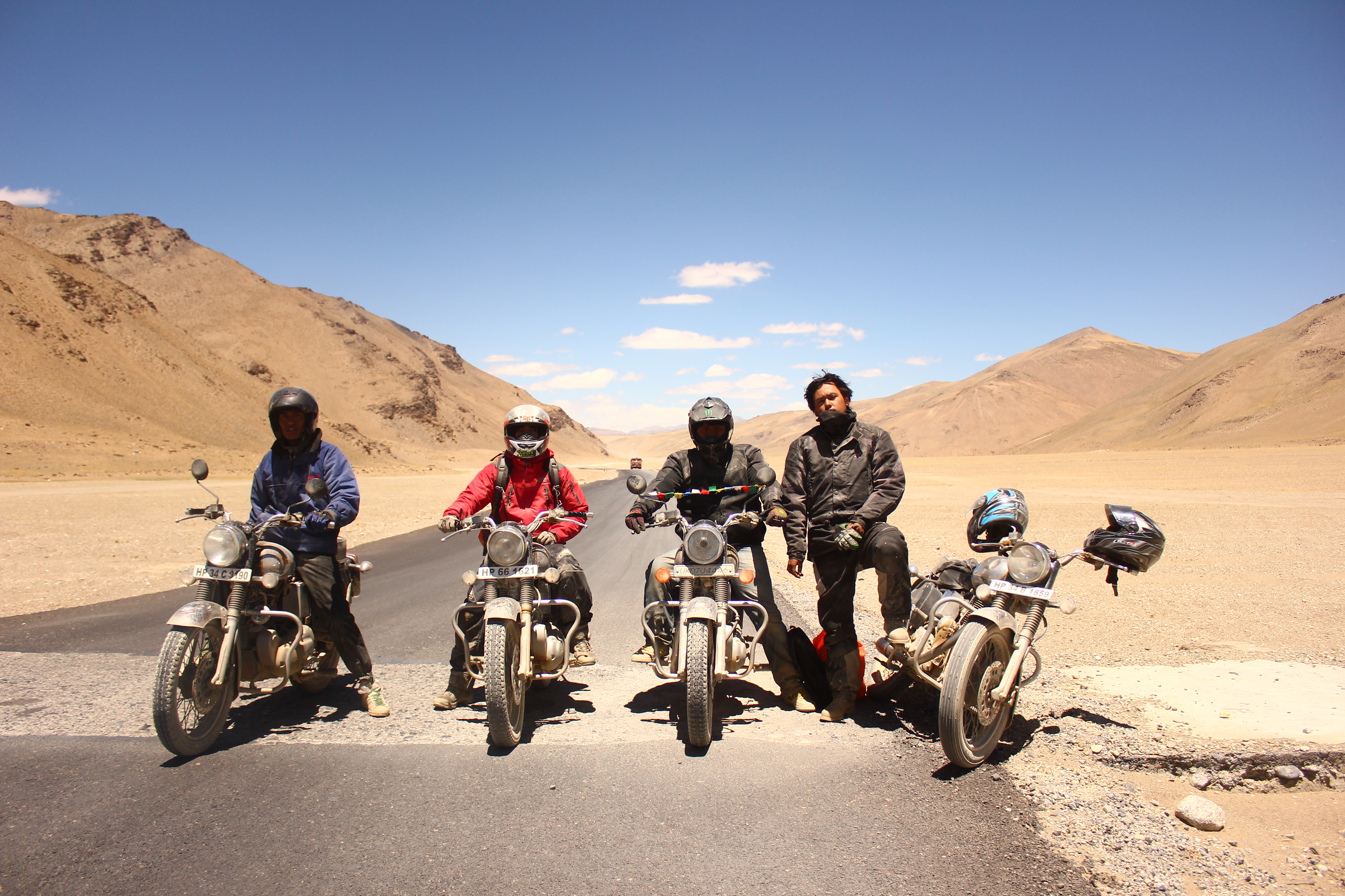 Fast Bends And High Passes Royal Enfield India Pure
